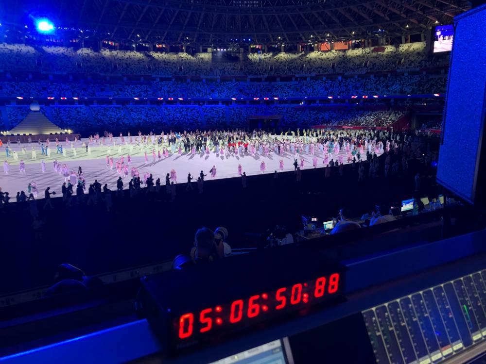 Optocore gestionó el audio en red para las ceremonias de apertura y clausura de los Juegos Olímpicos Tokio 2020